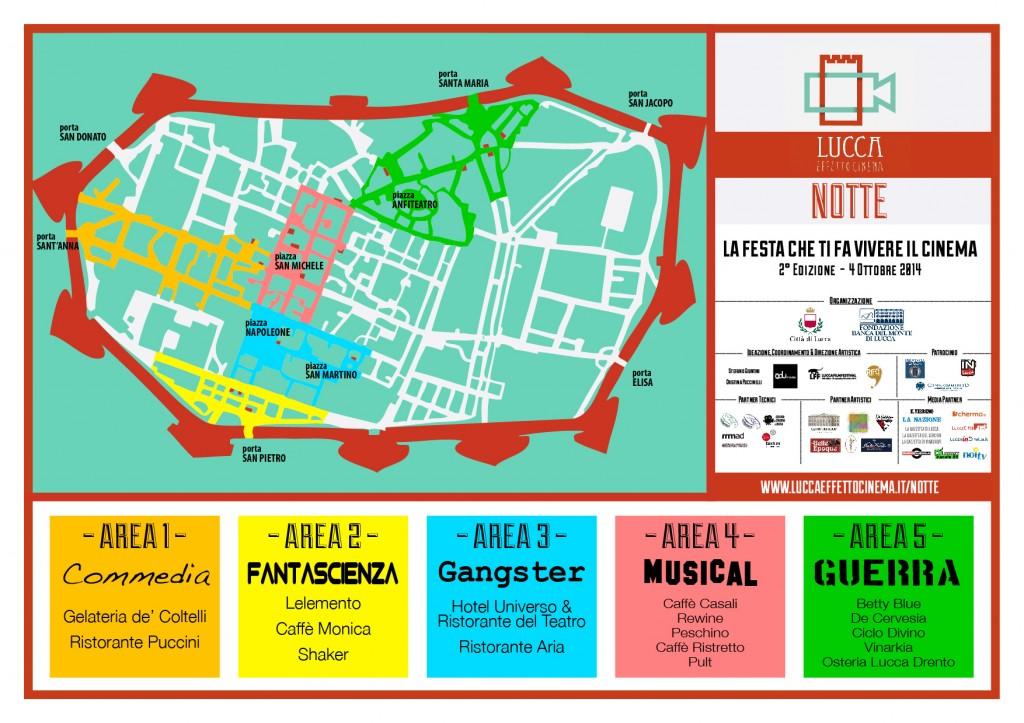 3. Mappa Centro Storico e Generi_LEC Notte