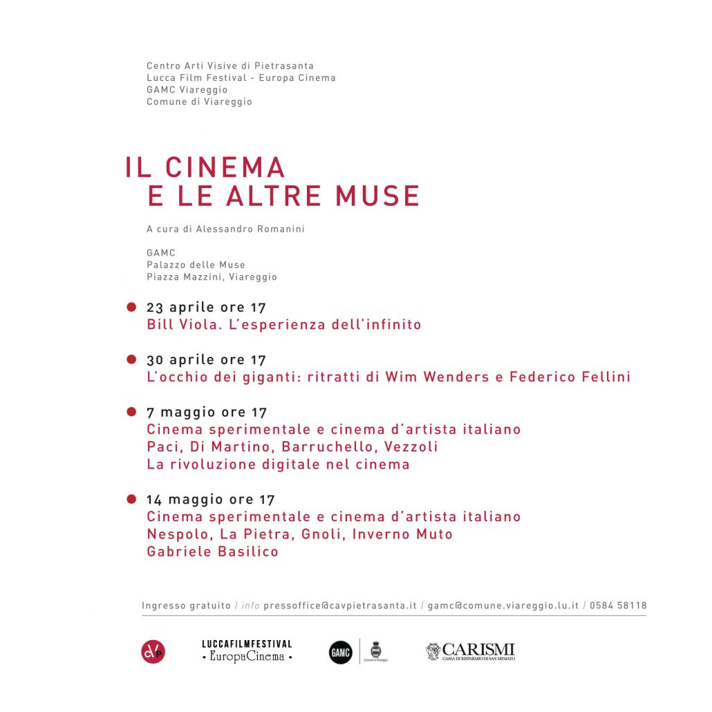 invito Cinema e muse
