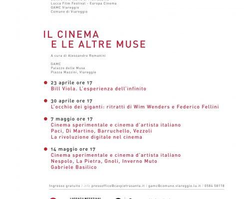 invito Cinema e muse