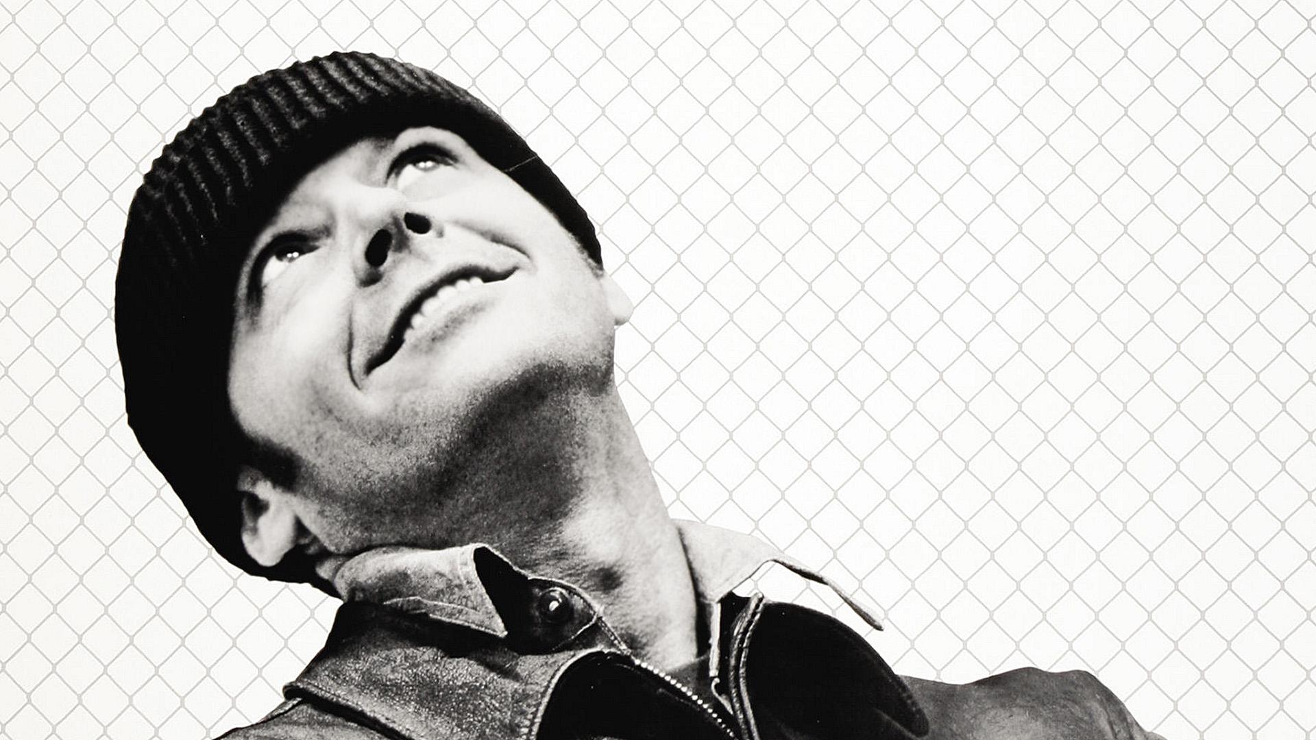 """Jack Nicholson in """"Qualcuno volò sul nido del cuculo"""""""