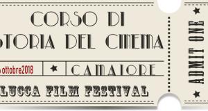 locandina corso storia del cinema - camaiore 2018