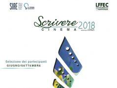locandina vincitori scrivere cinema 2018