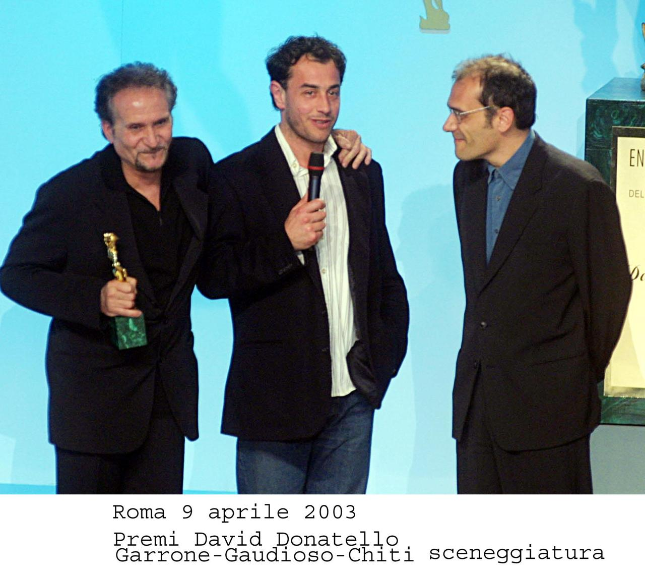 Matteo Garrone e Massimo Gaudioso