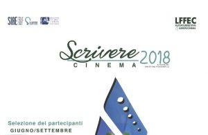locandina del bando scrivere cinema 2018, progetto Sillumina