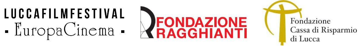 Fondazione Ragghianti, Lucca film festival e Fondazione Cassa di risparmio di Lucca