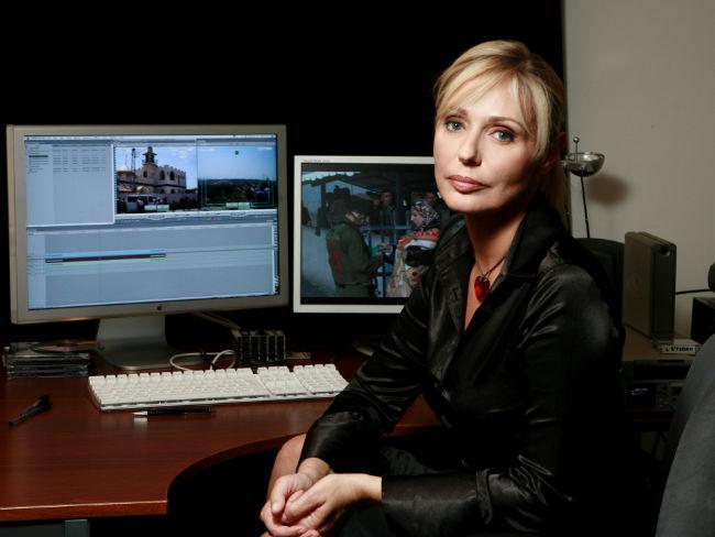 Barbara Cupisti - responsabile della rassegna sui diritti umani - Europa cinema a Viareggio