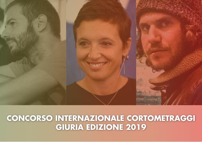 Giuria del Concorso internazionale cortometraggi - Lucca film festival Europa cinema 2019