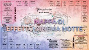 Effetto Cinema Notte - la mappa