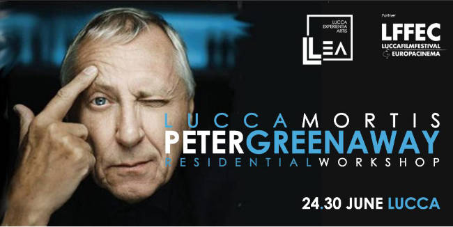 Lucca mortis - Workshop con Peter Greenway