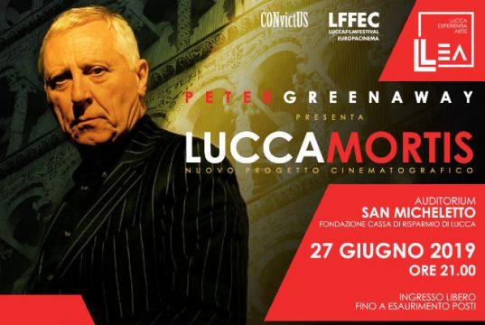 Serata con Peter Greenaway aperta al pubblico