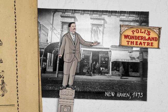 Poli theatre Mr Wonderland