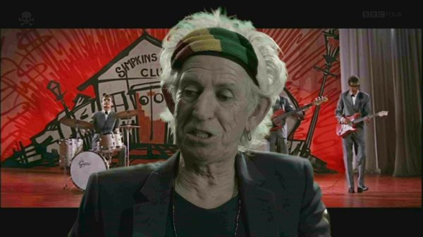 Foto documentario Keith Richards 1