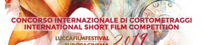 Concorso cortometraggi Lucca Film festival Europa cinema 2019