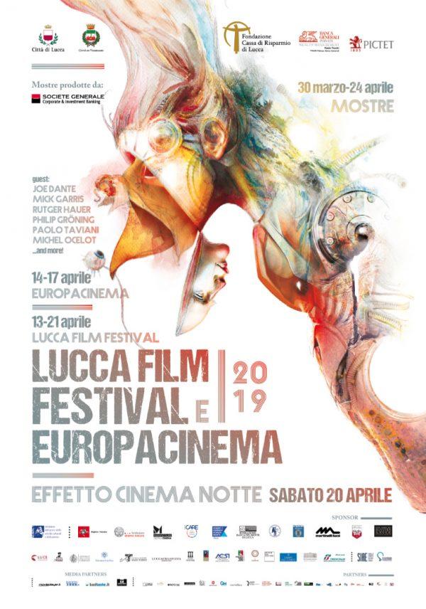 locadina Lucca film festival Europa cinema 2019